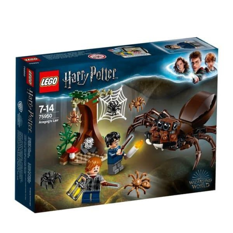 Lego 75950 Harry Potter Aragogs Lair