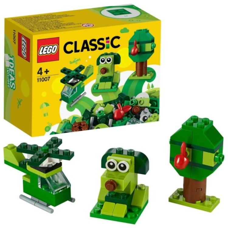 Lego 11007 Classic Creative Green Bricks