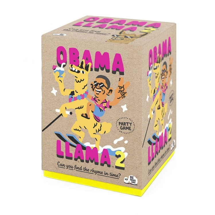 Big Potato Games - Obama Llama 2: The Family Board Game with the Strange-Sounding Name