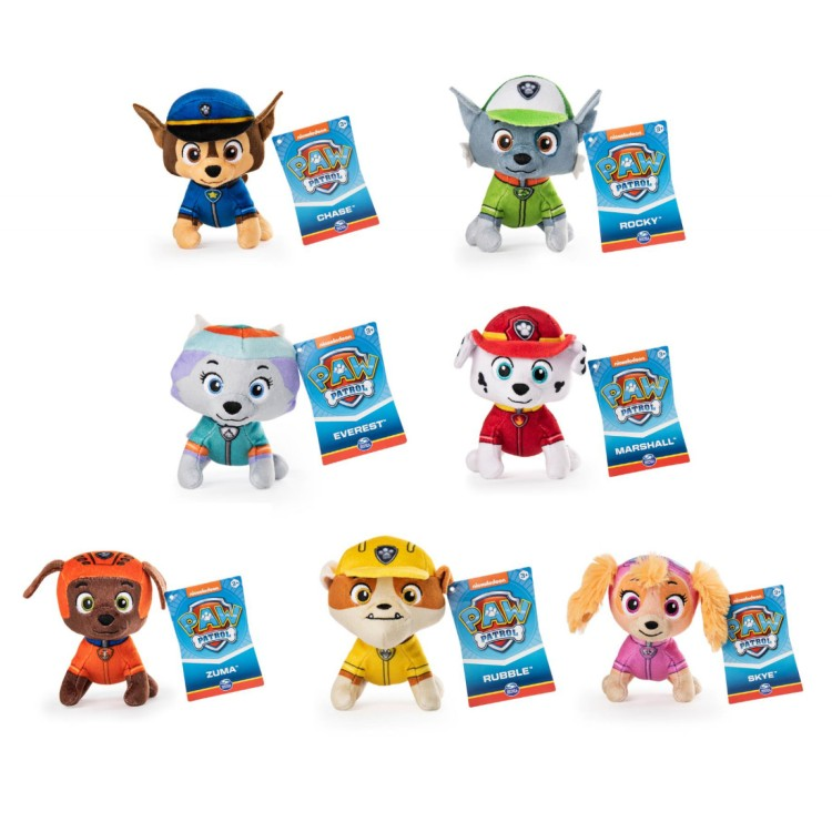 Paw Patrol Mini Figure Plush
