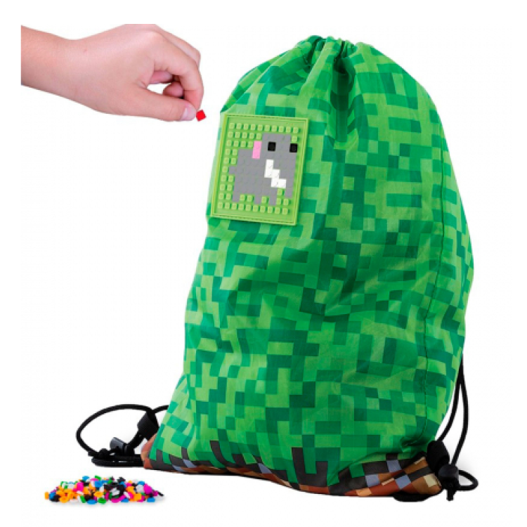 Pixie Crew Drawstring Bag - Adventure Green