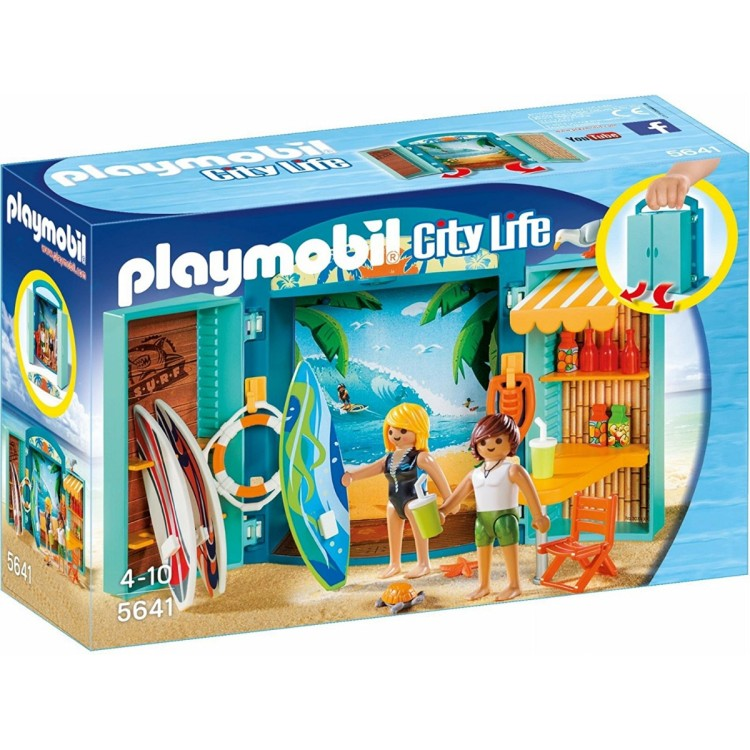 Playmobil - 5641 Surf Shop Play Box