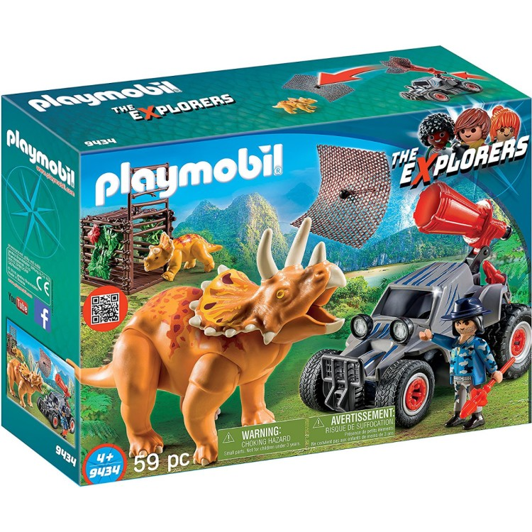 Playmobil - 9434 Quad with Triceratops