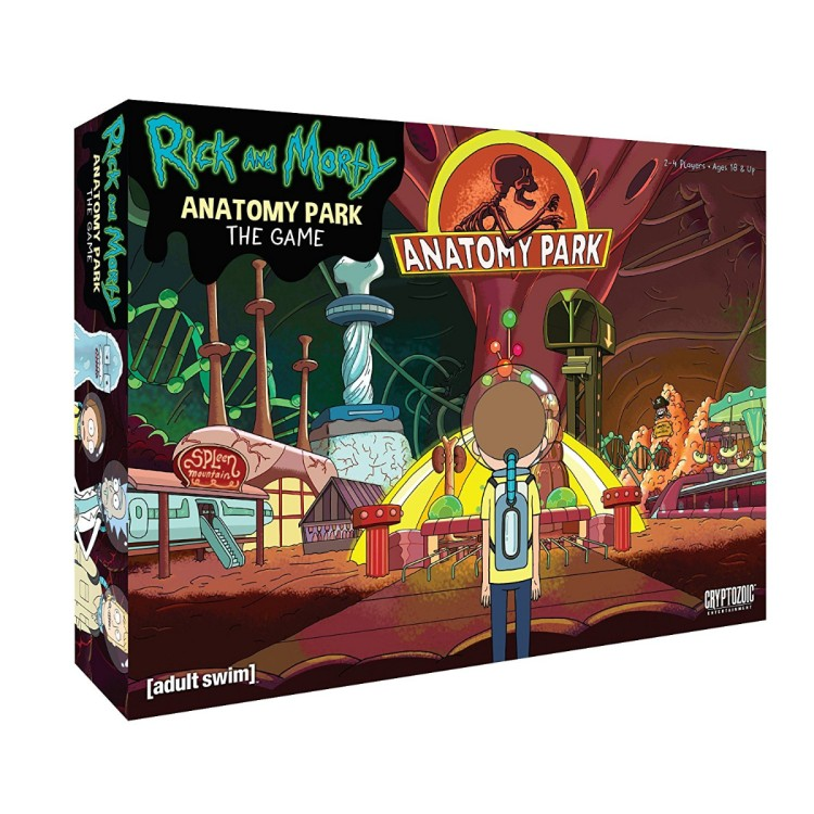 Rick and Morty Anatomy Park Games
