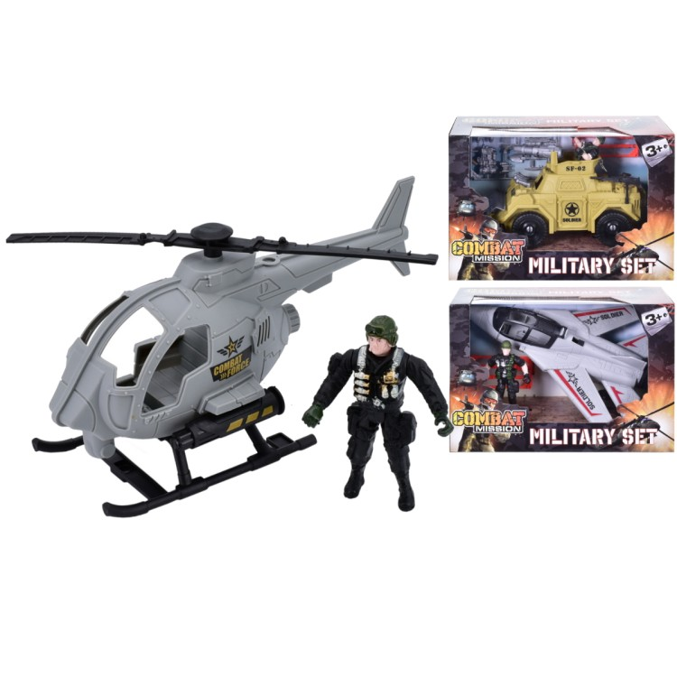 Combat Mission military playset TY4145